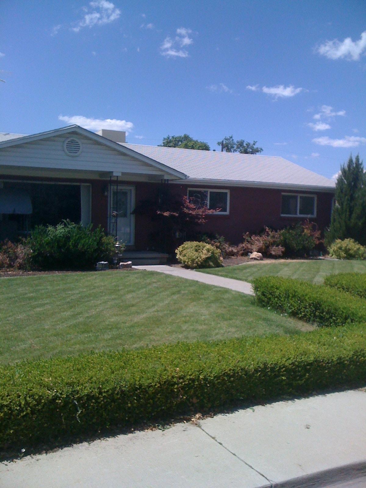 Beautiful large custom home is quiet family-friendly neighborhood!