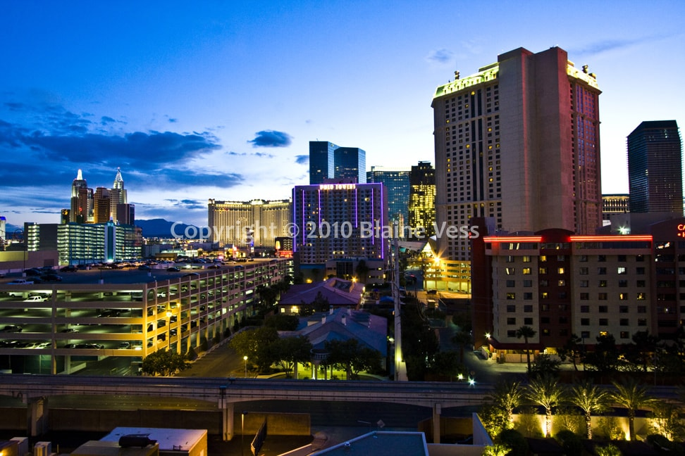 7th Floor Strip View @MGM Signature
