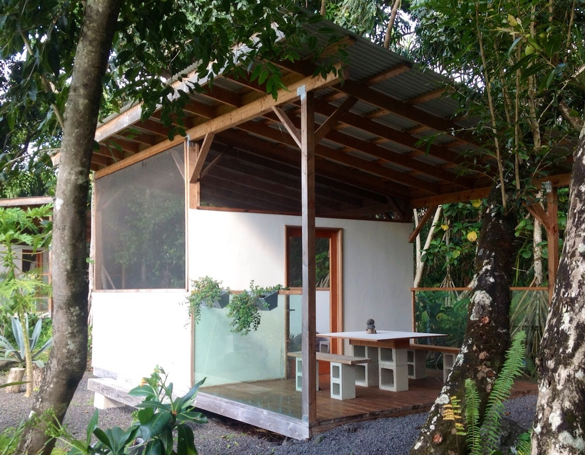 Glamping: The Butterfly Cabin