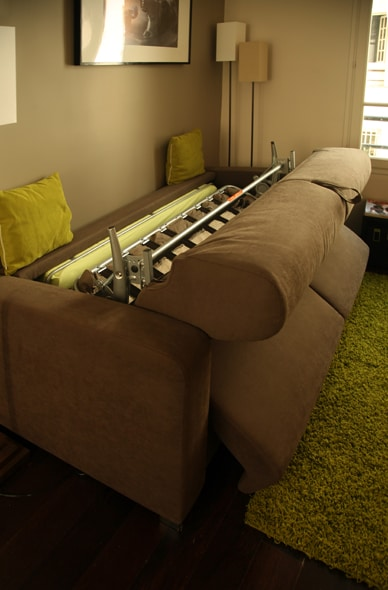 the living room Sofa bed