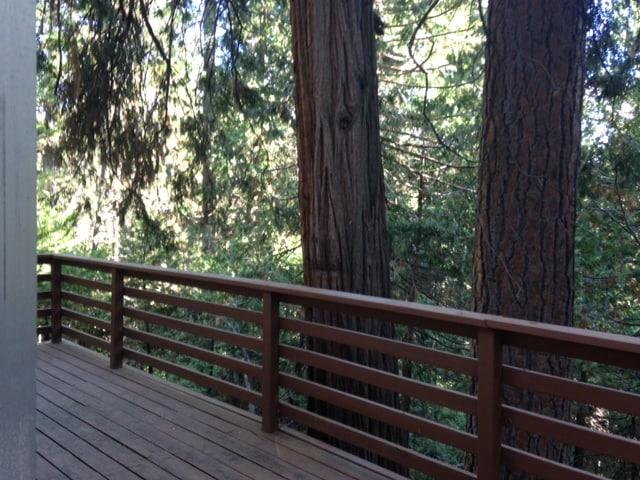 2 decks, fireplace, 3/2 in  Woods