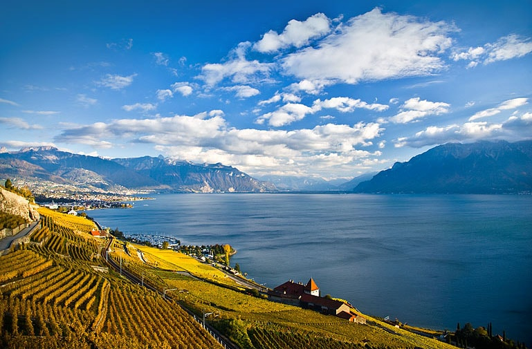 The Domaine du Burignon welcomes you in the heart of the vineyards of Lavaux, UNESCO World Heritage Site. It is situated over the beautiful village of St-Saphorin Lavaux.