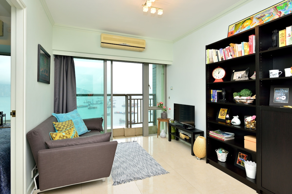 2-BR Flat with Spectacular Sea-view