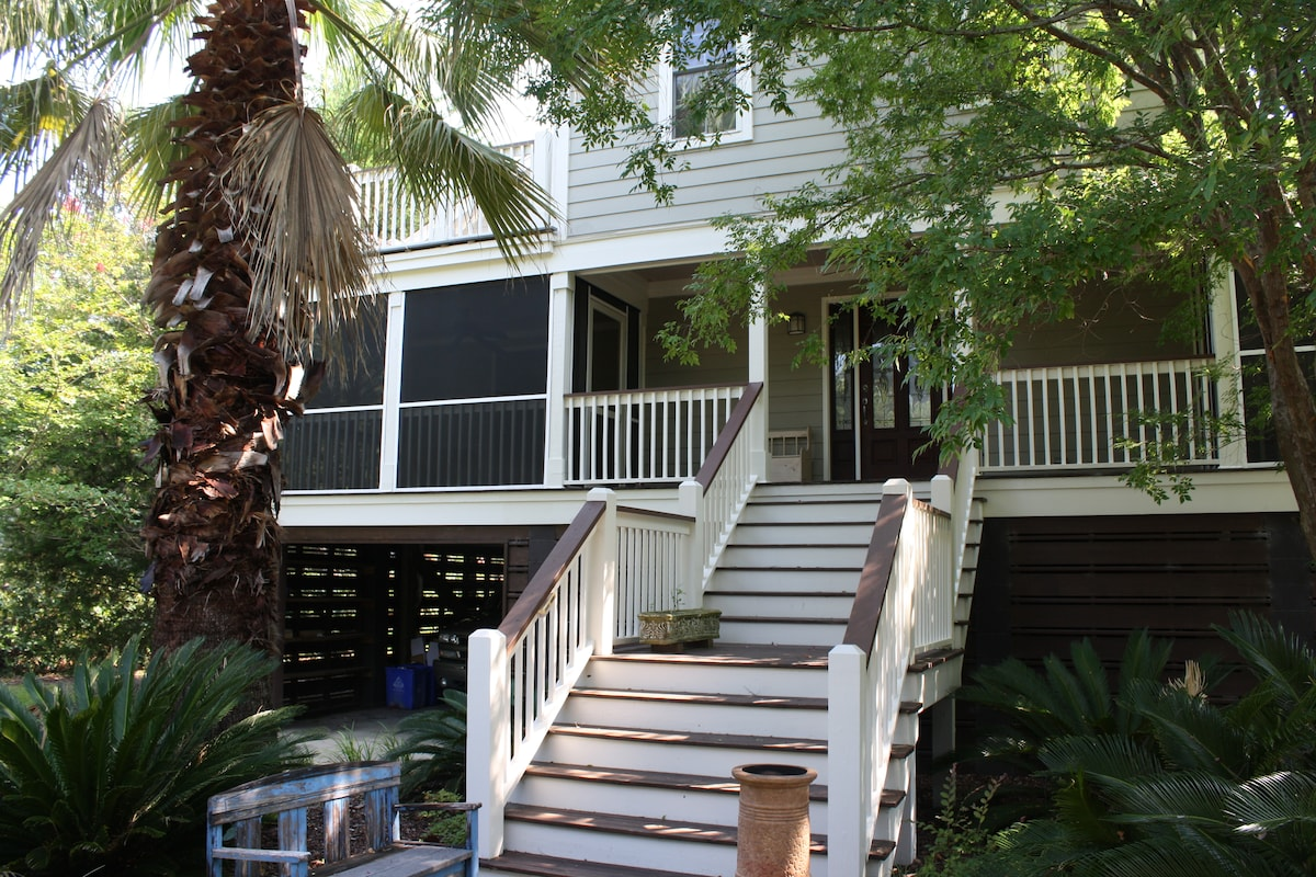 Spacious welcoming porch, Each BR opens to a porch or deck