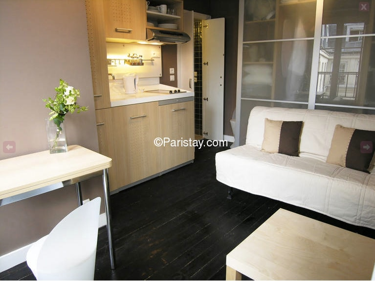 Studio close to the Louvre Museum