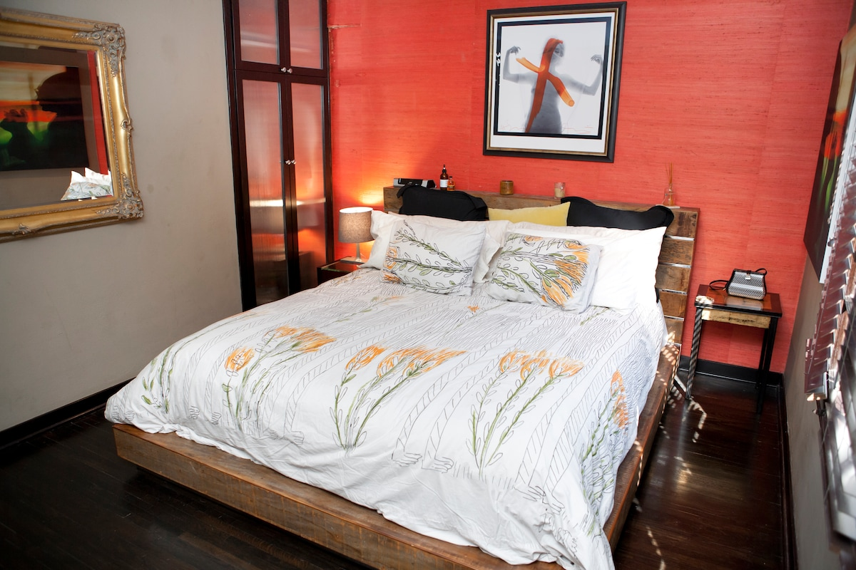 Bedroom- CA King size bed