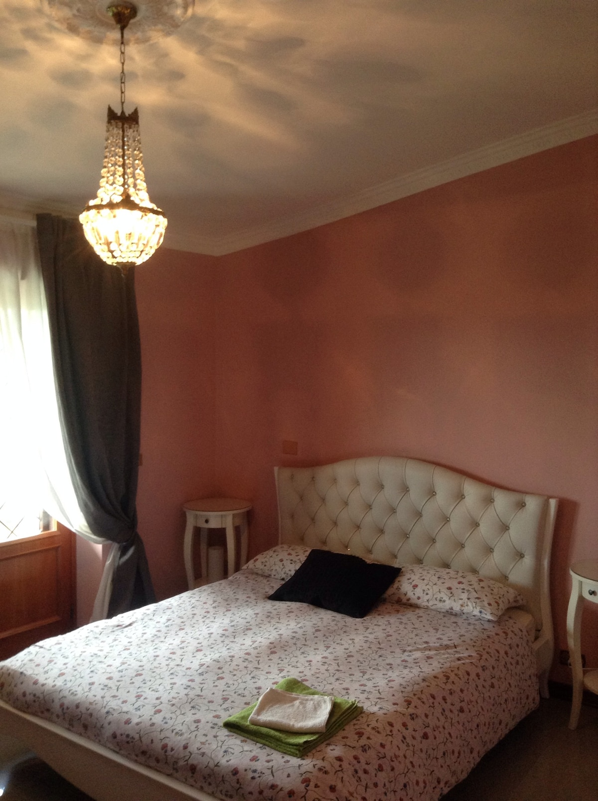 The romantic bedroom
