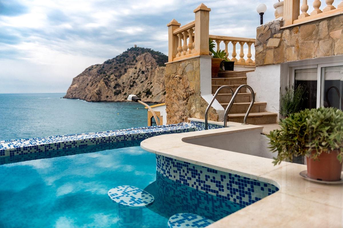 Снять дом в испании на берегу моря на 2 недели