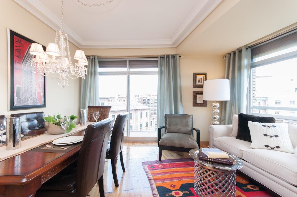 Beautiful Room in Madrid /Breakfast