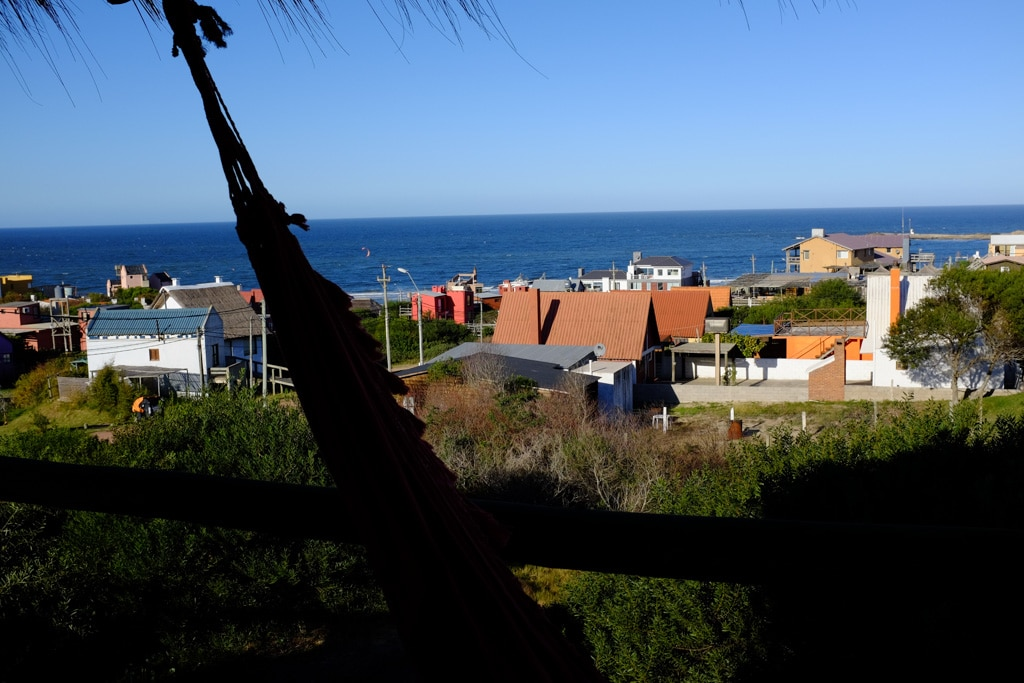 It has beautiful views of Punta del Diablo and the Atlantic Ocean