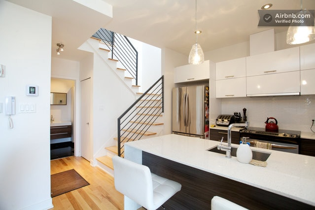 Big condo on 2 levels with terrasse