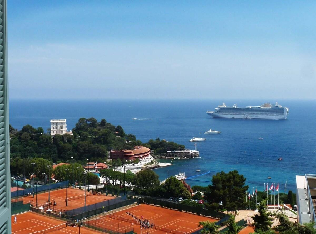 Wonderful seawiew 100m Monte Carlo