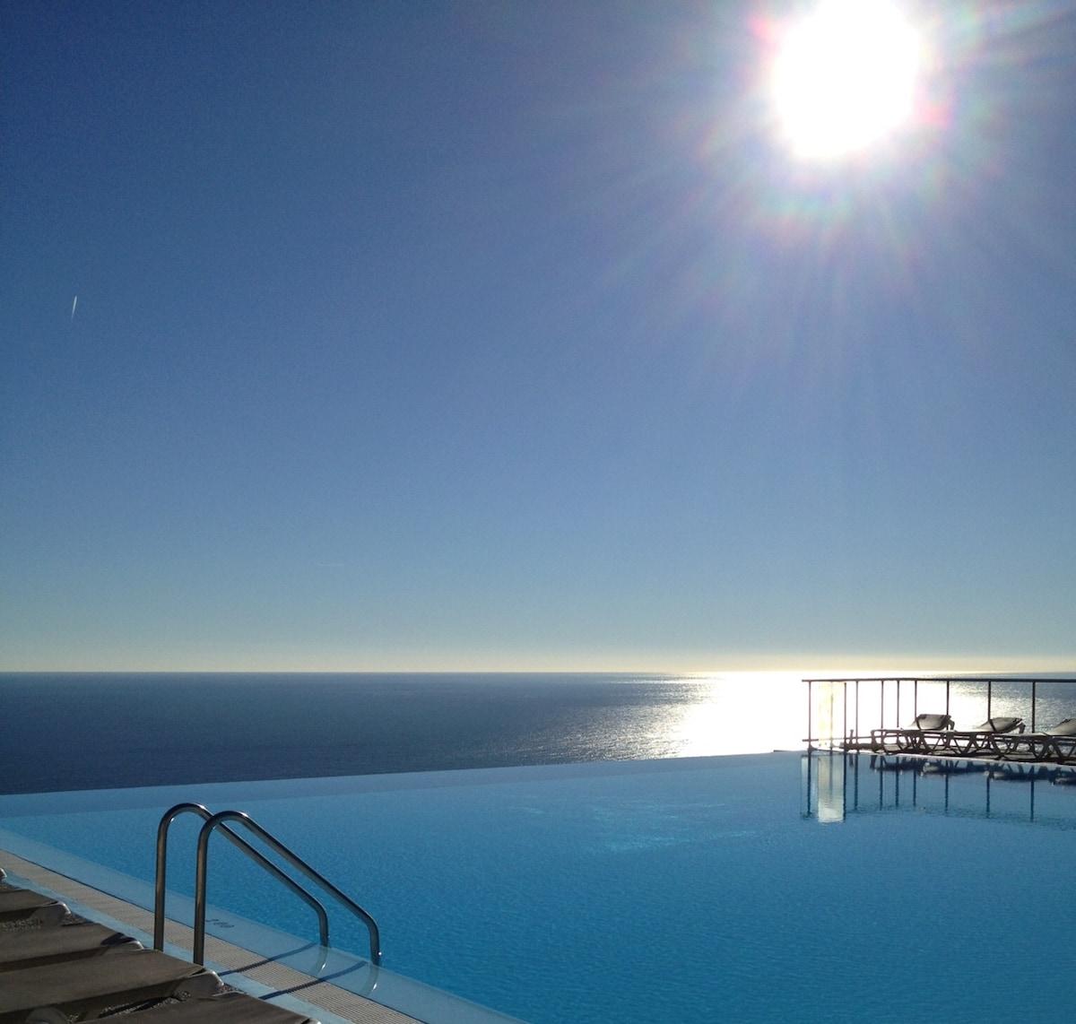 Sea view apartment Cap d'Ail