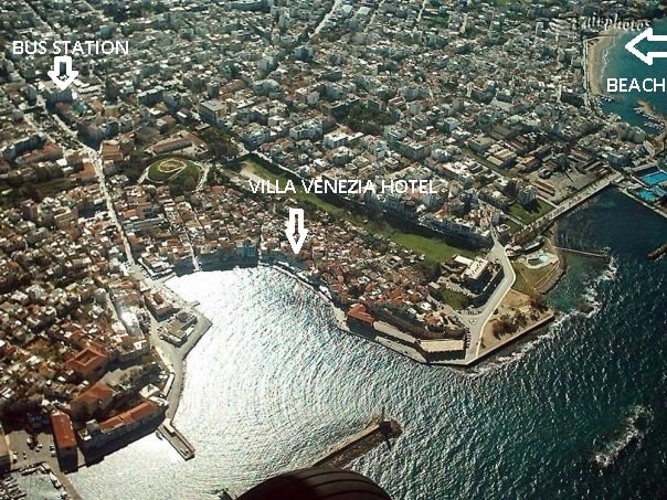 Amazing sea view in Chania old town