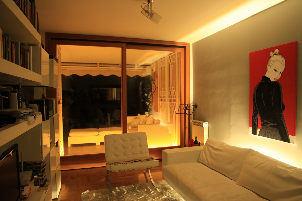 Rome, nice apt with private garden