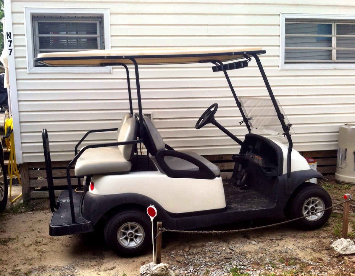 Golf car upgraded for the 2014 season! (included with rental at NO EXTRA COST)