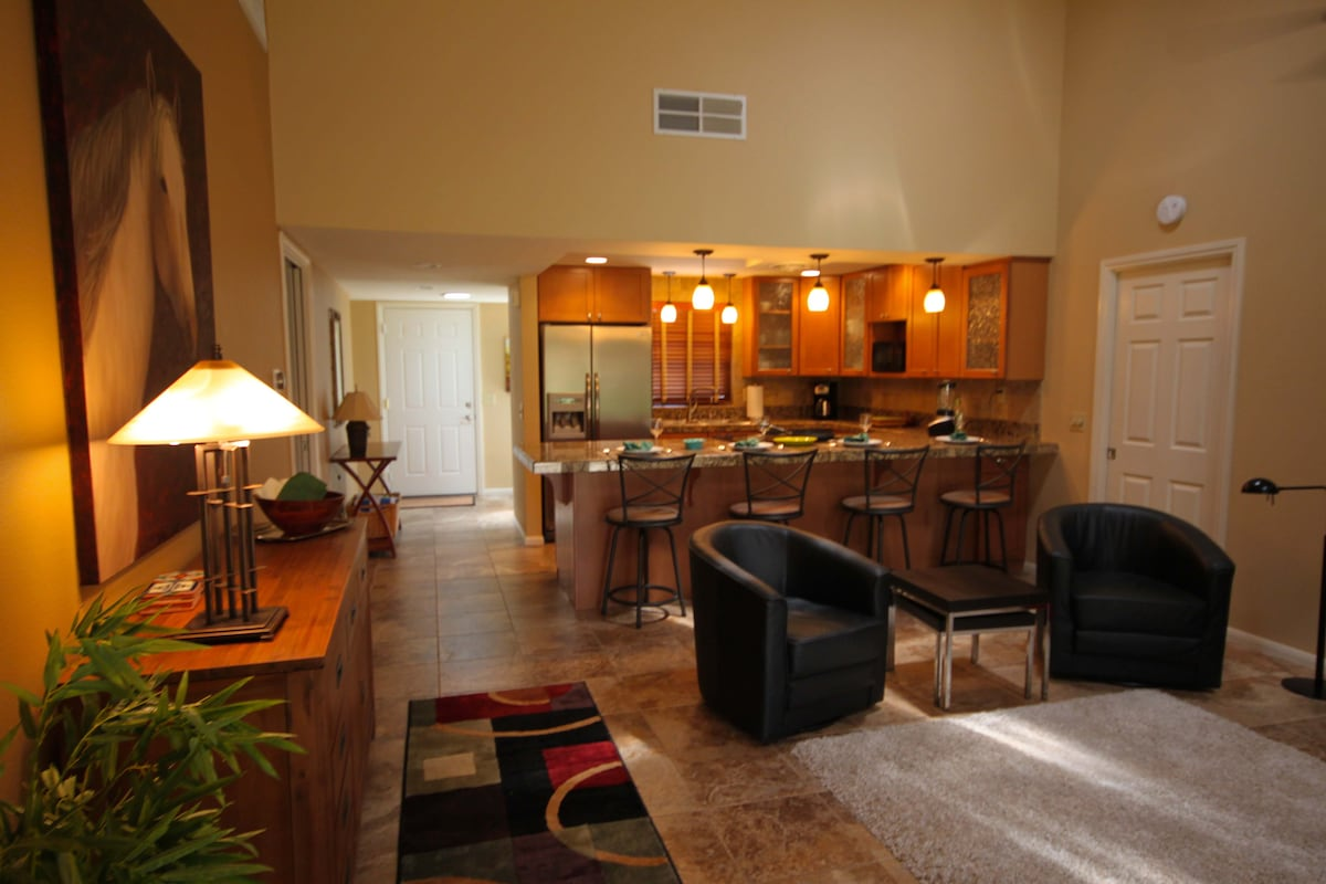 Main living area provides a perfect place for entertaining