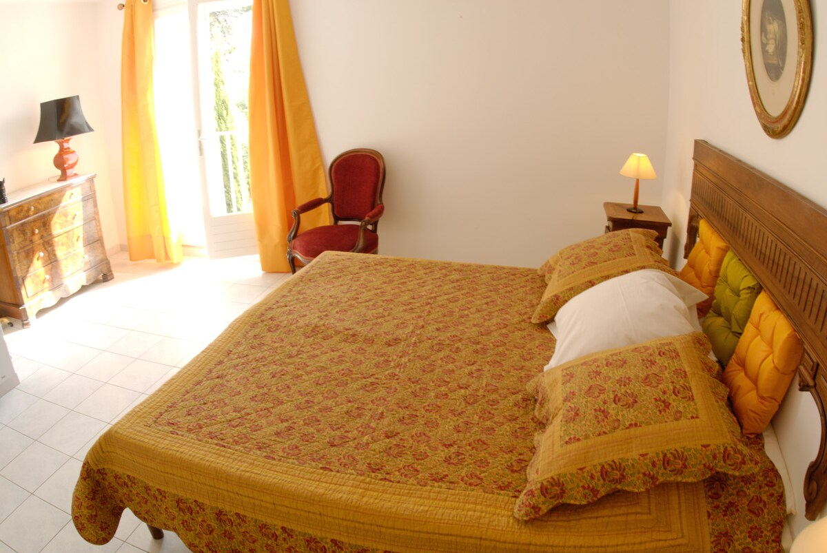 one of the double rooms..