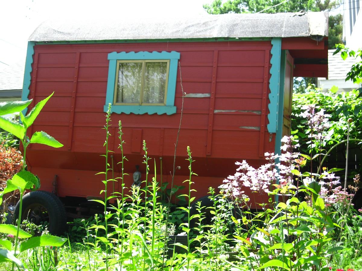 Garden Gypsy Wagon