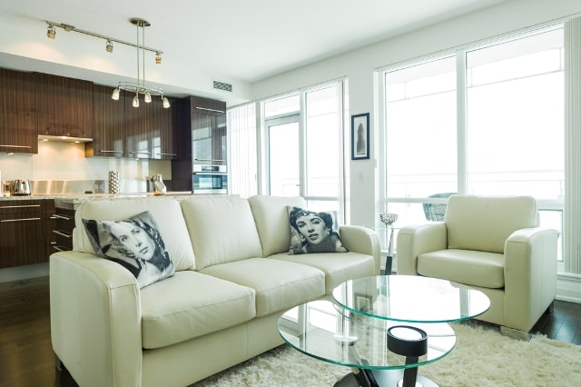Lovely Luxurious Furnishings.  Including Queen Sofa bed for Guest, friends & family!