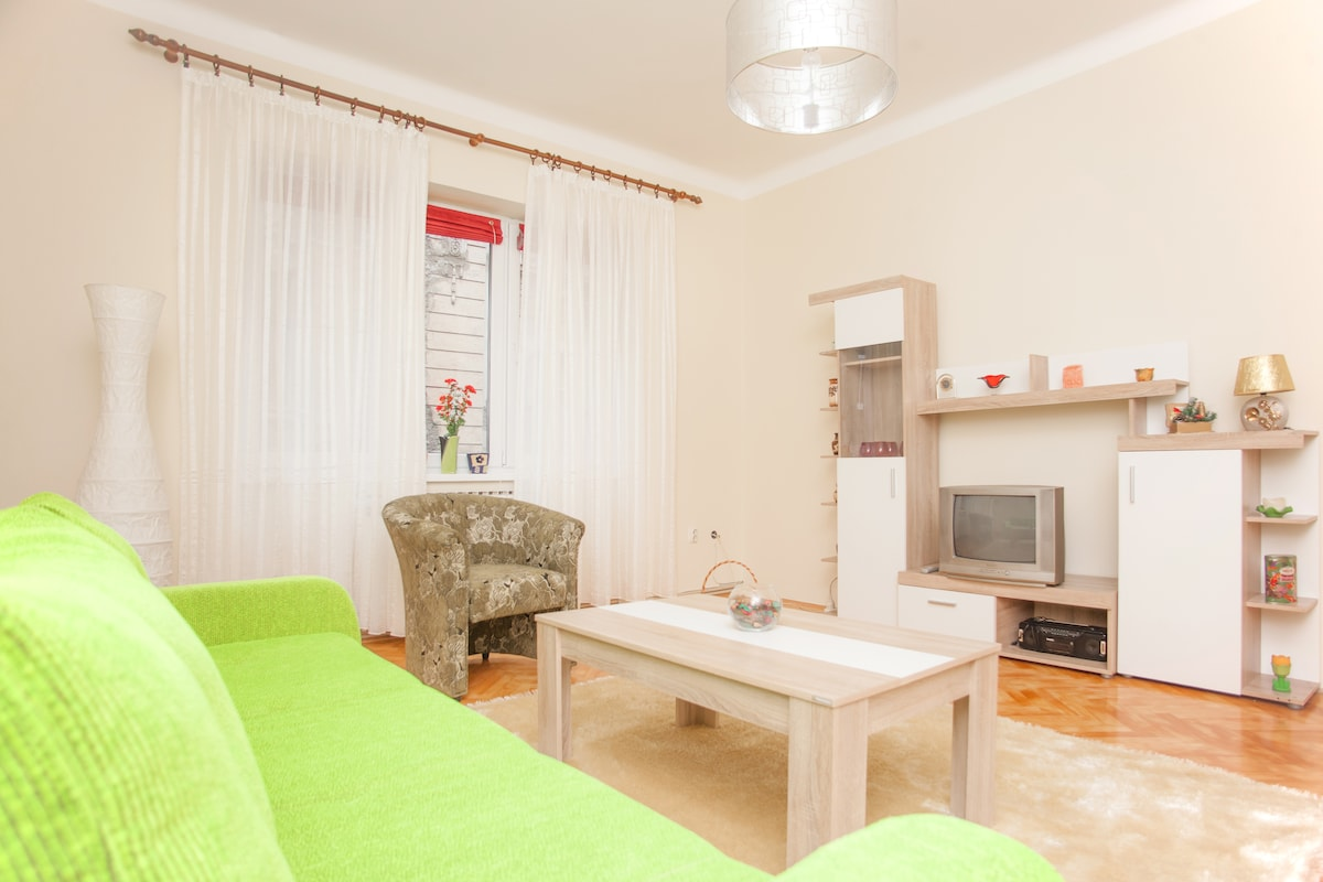 Comfy & quiet apartment- old Town