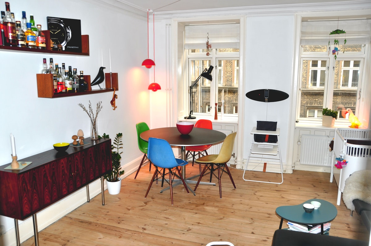 Cosy apartment near Sankt Hans Torv
