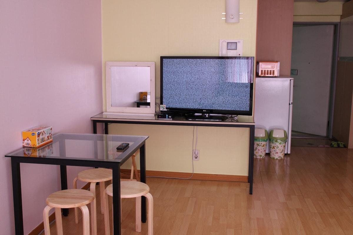 최고의 접근성을 갖춘 Residence Apartment입니다 in Mapo-gu