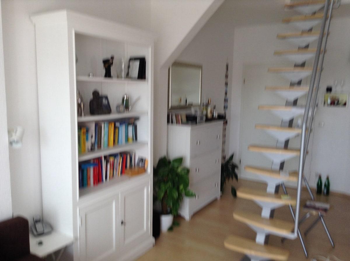 Dachgeschosswohnung mit Terasse