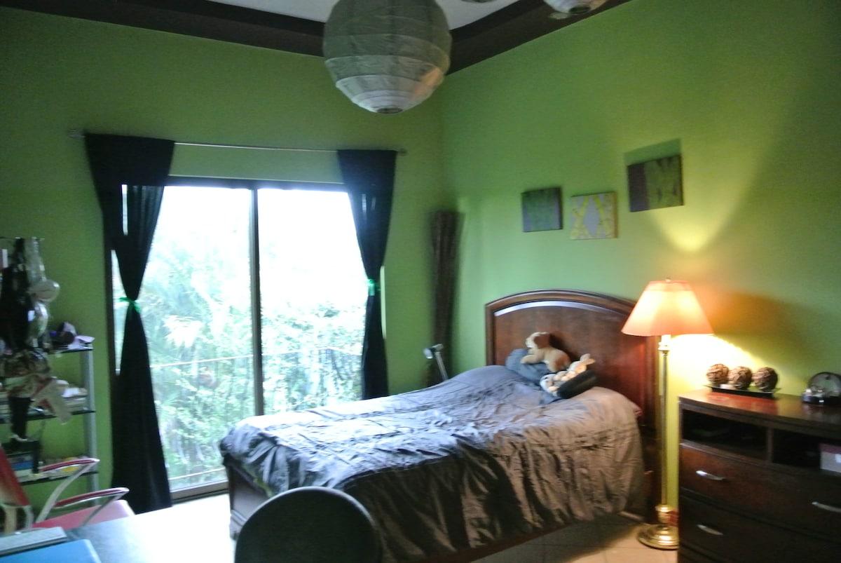 1-Bedroom in large modern Home
