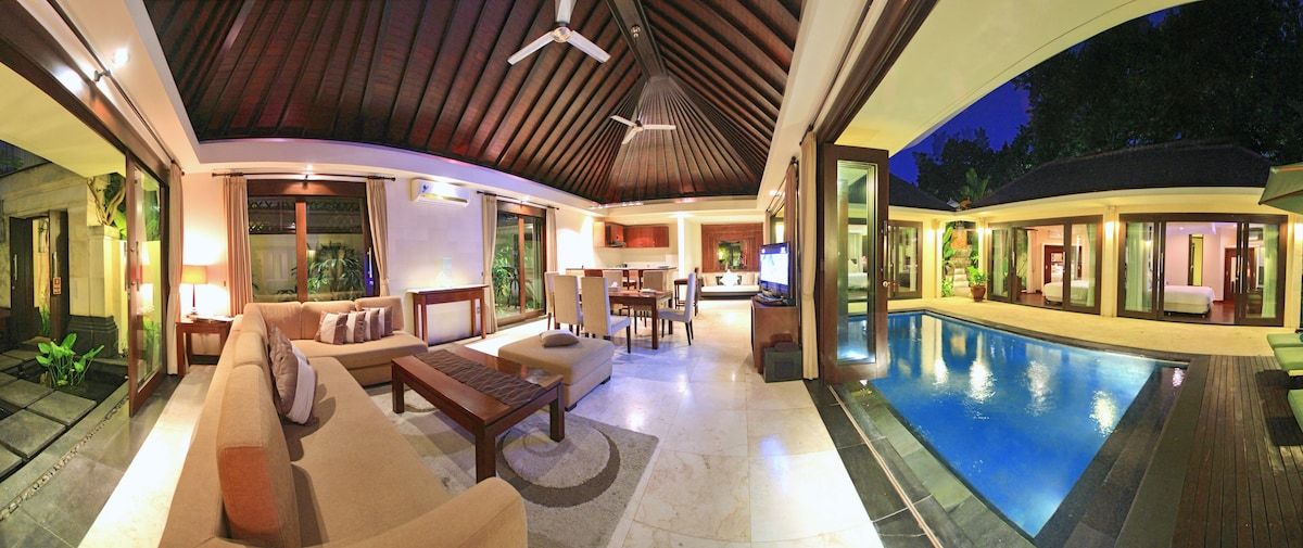 2 bedroom private pool villas