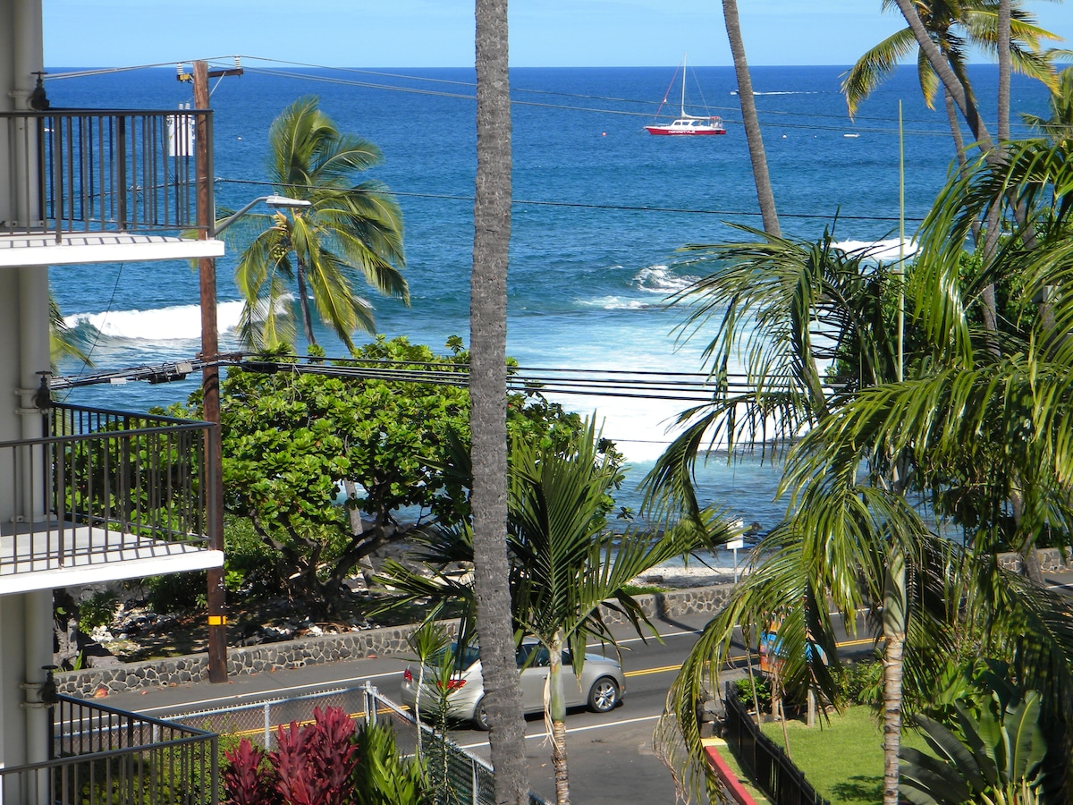 View from the lanai everyday.  It just never  gets old