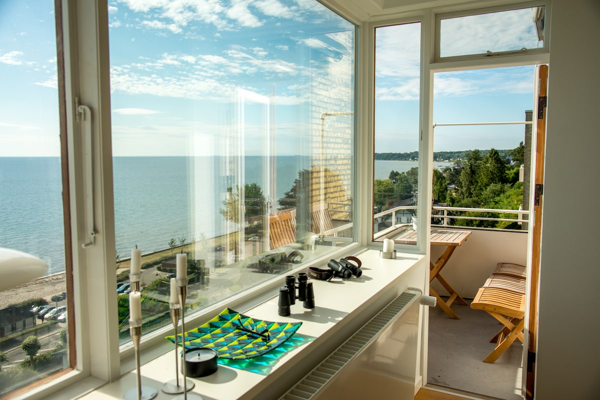 Penthouse apartment with seaview