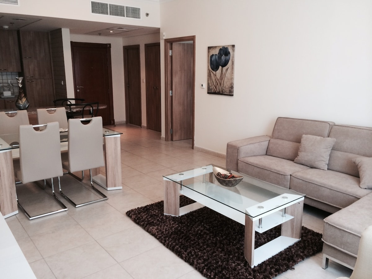 Fully Furnished One Bedroom Apart.