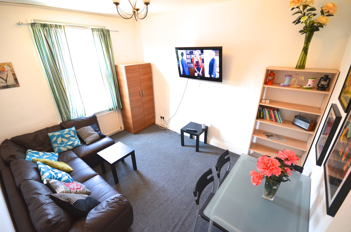 Large Living Room for you and your family or friends