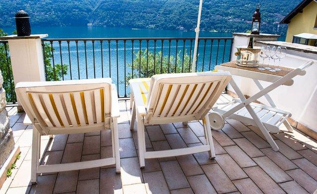 Family house, LakeComo, great view!
