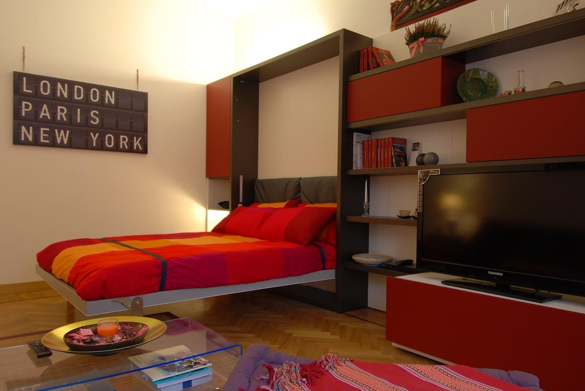 Modern one bdr PRATI/2877 Roma