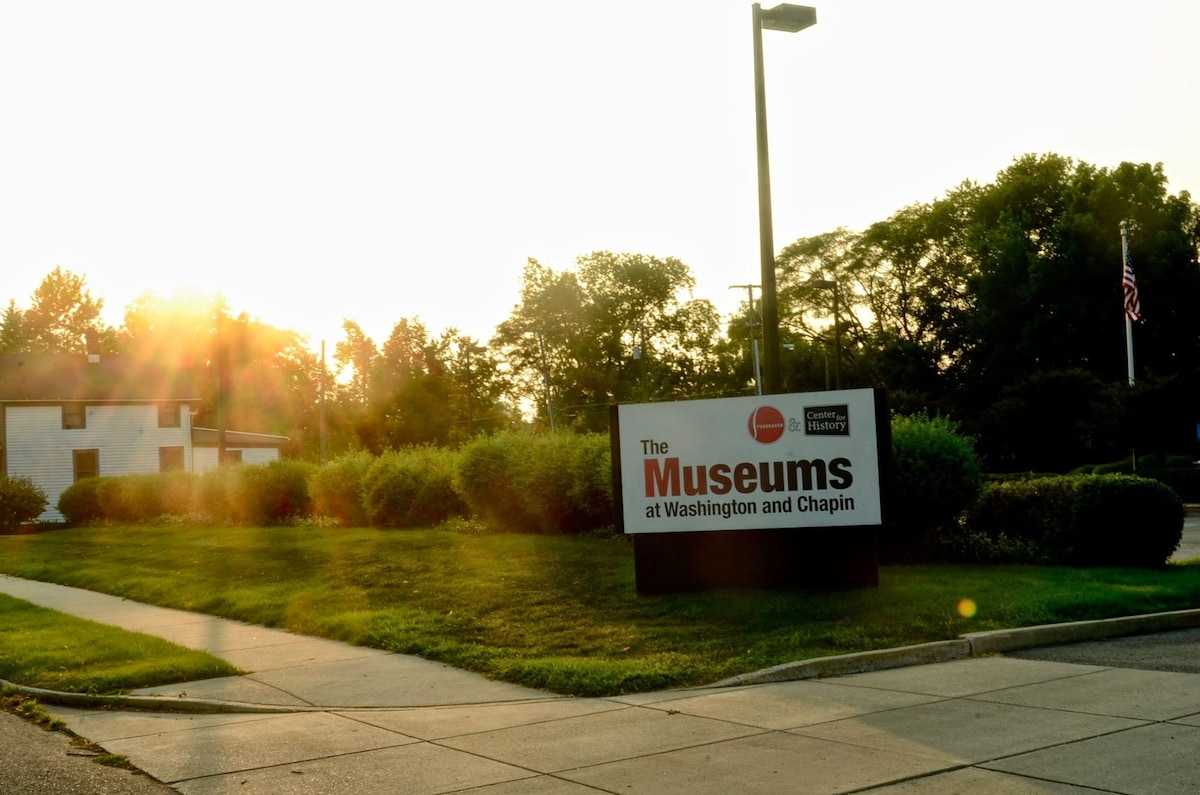 Nationally-acclaimed Studebaker National Museum across the street.