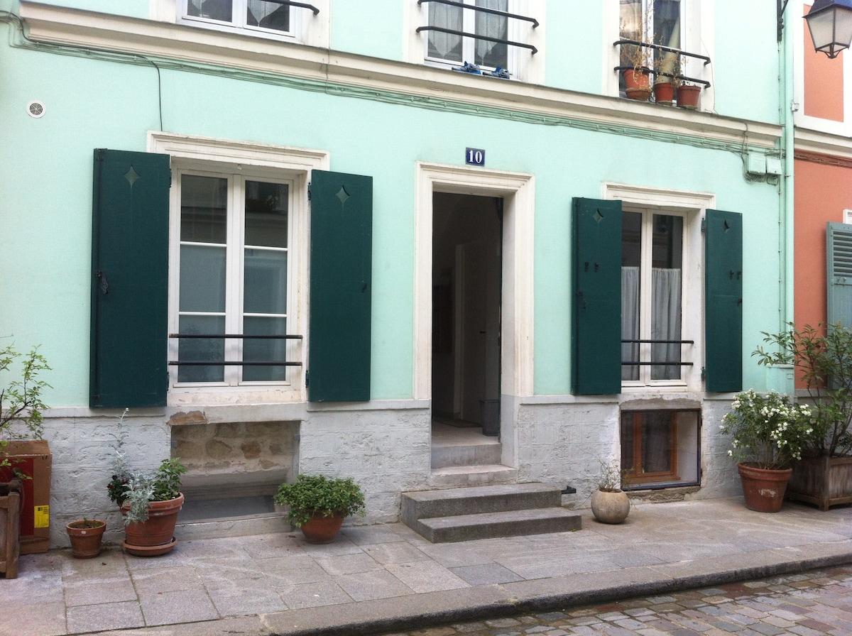 Maison / rue piétonne / centrale