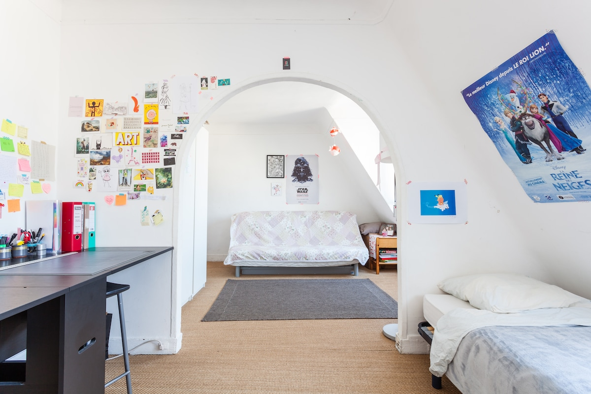 Cozy studio in the heart of Paris