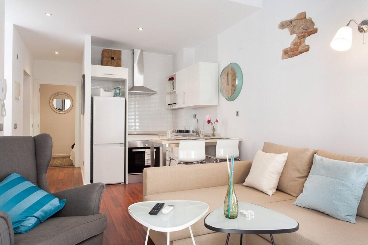 Stylish flat in Barcelona Center!