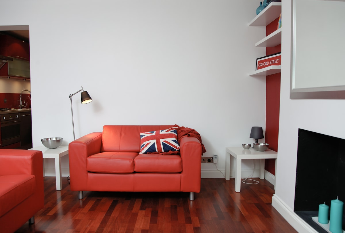 Fab Fulham Flat for 4, near Chelsea