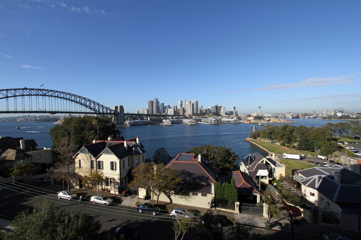Stunning views of Sydney Harbour!