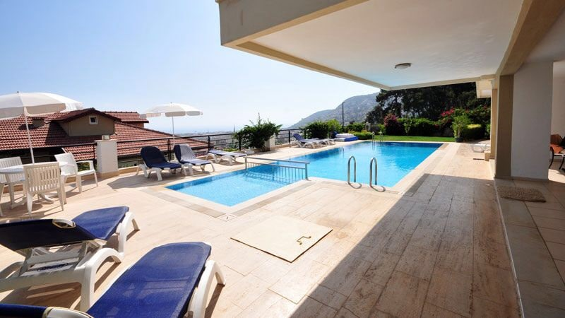 Penthouse with view over Alanya
