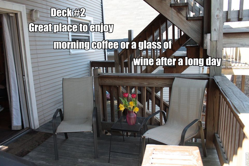 Enjoy Multiple Decks and Outdoor Spaces to Relax