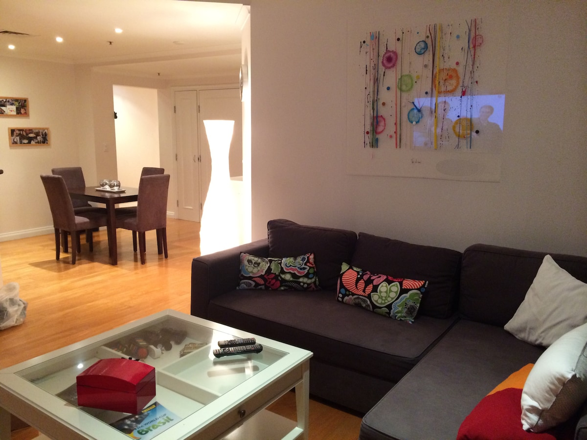 Superb apartment greatly located