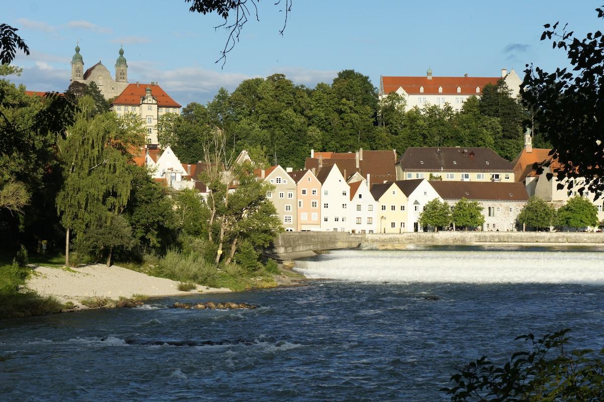 Romantisches Landsberg nah bei MUC