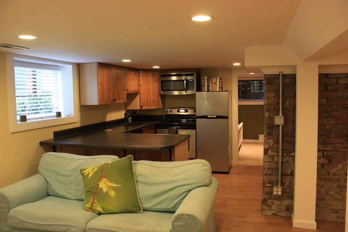 Modern Green Lake Apartment