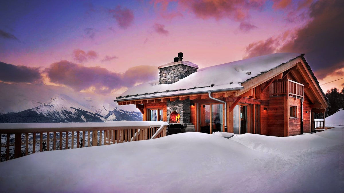 Luxury Chalet SKI IN/OUT, 4 Vallees