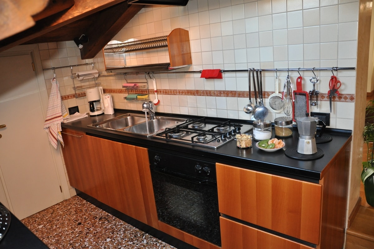 kitchenette is functional and very well equipped