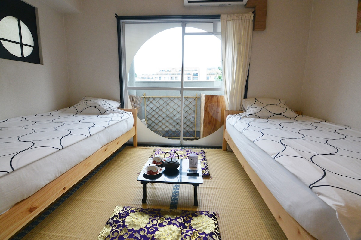 welcome to our japanese style studio! perfect location ;1mins from harajuku station